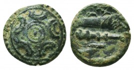KINGS OF MACEDON. Alexander III 'the Great' (336-323 BC). Ae  Condition: Very Fine  Weight: 2,73 gram Diameter: 14 mm