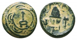 KINGS OF MACEDON. Alexander III 'the Great' (336-323 BC). Ae  Condition: Very Fine  Weight: 3,07 gram Diameter: 14 mm