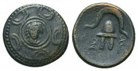 KINGS OF MACEDON. Alexander III 'the Great' (336-323 BC). Ae  Condition: Very Fine  Weight: 3,80 gram Diameter: 14 mm