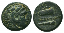 KINGS OF MACEDON. Alexander III 'the Great' (336-323 BC). Ae  Condition: Very Fine  Weight: 5,54 gram Diameter: 17 mm