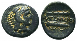KINGS OF MACEDON. Alexander III 'the Great' (336-323 BC). Ae  Condition: Very Fine  Weight: 6,44 gram Diameter: 17 mm
