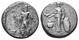 Pamphylia. Side circa 400-350 BC. Stater AR Condition: Very Fine  Weight: 9,61 gram Diameter: 21 mm