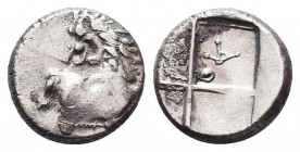 Thracian Chersonesos, 'Kardia' AR Hemidrachm. Circa 357-320 BC.  Condition: Very Fine  Weight: 2,13 gram Diameter: 14 mm