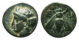 IONIA. Ephesos. Ae (Circa 375-325 BC). Condition: Very Fine  Weight: 1,29 gram Diameter: 11 mm