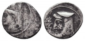 Greek Obol, Ca. 350-300 BC. AR Condition: Very Fine  Weight: 0,65 gram Diameter: 10 mm