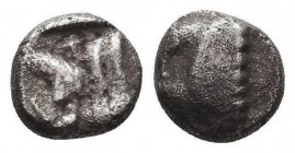 Greek Obol, Ca. 350-300 BC. AR Condition: Very Fine  Weight: 0,78 gram Diameter: 10 mm