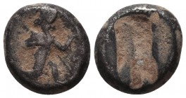 Persia. Achaemenid Empire. Time of Xerxes II to Artaxerxes II circa 420-375 BC. Siglos AR Condition: Very Fine  Weight: 4,92 gram Diameter: 10 mm