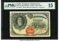 Angola Banco Nacional Ultramarino 2500 Reis 1.3.1909 Pick 29 PMG Choice Fine 15. Repaired.  HID09801242017  © 2020 Heritage Auctions | All Rights Rese...