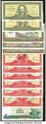 Cuba, Costa Rica, Dominican Republic and El Salvador Group of 27 Issued and Specimen Examples Majority Crisp Uncirculated.   HID09801242017  © 2020 He...