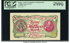 Danzig Senate of the Municipality 1 Million Mark 1923 Pick 24a PCGS Superb Gem New 67PPQ.   HID09801242017  © 2020 Heritage Auctions | All Rights Rese...
