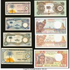 Djibouti and Biafra Group Lot of 8 Examples Very Fine-Crisp Uncirculated.   HID09801242017  © 2020 Heritage Auctions | All Rights Reserved