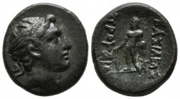 KINGS OF BITINIA, Prusias II Kynegos. Be19. (Ae. 5.35g \/ 19mm). 182-49 BC Nicomedia. (SNG Copenhagen 632). F.