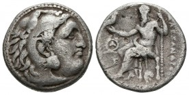 KINGS OF MACEDONIA, Alexander. Drachm. (Ar. 3.94g \/ 17mm). 319-305 BC Magnesia. (Price 1980). VG.