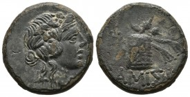 PONTOS, Amisos. Ae21. (Ae. 7.48g \/ 21mm). 100-80 BC (SNG BM Black Sea 1202; HGC 7, 243). VF.