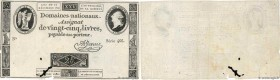 Country : FRANCE  Face Value : 25 Livres   Date : 16 décembre 1791  Period/Province/Bank : Assignats  Catalogue reference : Ass.22a  Additional refere...
