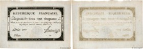 Country : FRANCE  Face Value : 250 Livres   Date : 28 septembre 1793  Period/Province/Bank : Assignats  Catalogue reference : Ass.45a  Additional refe...