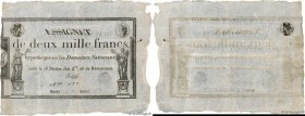 Country : FRANCE  Face Value : 2000 Francs   Date : 07 janvier 1795  Period/Province/Bank : Assignats  Catalogue reference : Ass.51a  Additional refer...