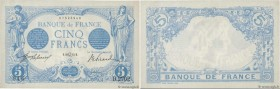 Country : FRANCE  Face Value : 5 Francs BLEU   Date : 22 juillet 1913  Period/Province/Bank : Banque de France, XXe siècle  Catalogue reference : F.02...