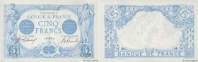 Country : FRANCE  Face Value : 5 Francs BLEU   Date : 15 juin 1915  Period/Province/Bank : Banque de France, XXe siècle  Catalogue reference : F.02.28...