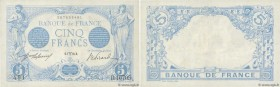 Country : FRANCE  Face Value : 5 Francs BLEU   Date : 07 mars 1916  Period/Province/Bank : Banque de France, XXe siècle  Catalogue reference : F.02.37...