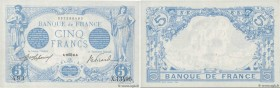Country : FRANCE  Face Value : 5 Francs BLEU   Date : 22 août 1916  Period/Province/Bank : Banque de France, XXe siècle  Catalogue reference : F.02.42...