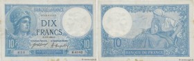 Country : FRANCE  Face Value : 10 Francs MINERVE   Date : 03 mai 1921  Period/Province/Bank : Banque de France, XXe siècle  Catalogue reference : F.06...