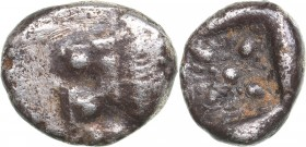 Ionia - Miletos AR Diobol - (circa 520-450 BC)