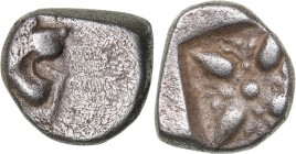 Ionia - Miletos AR Obol - (circa 520-450 BC)