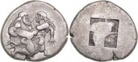 Thrace - Thasos AR stater (463-411 BC)