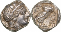 Attica - Athens AR Tetradrachm (circa 454-404 BC.)
