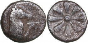 Aeolis - Kyme AR Obol - (mid 4th century BC)