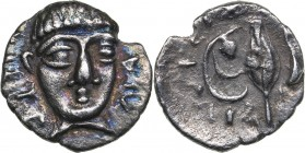 Campania - Phistelia AR Obol - (circa 325-275 BC)