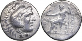 Kingdom of Macedon - Aspendos AR Tetradrachm (204/3 BC)