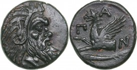 Bosporus Kingdom, Pantikapaion Æ tetrachalcon (Circa 345-310 BC)