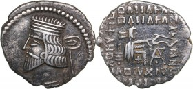 Parthian Kingdom AR Drachm - Vologases III (105-147 AD)