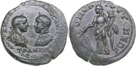 Moesia inferior - Tomis Æ - Gordian III, with Tranquillina (238-244 AD)