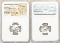 MACEDONIAN KINGDOM. Alexander III the Great (336-323 BC). AR drachm (18mm, 1h). NGC AU. Posthumous issue of Teos, ca. 310-301 BC. Head of Heracles rig...