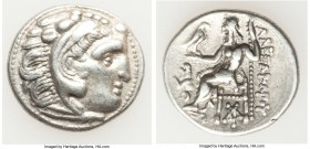 MACEDONIAN KINGDOM. Alexander III the Great (336-323 BC). AR drachm (18mm, 4.27 gm, 12h). Choice VF. Posthumous issue of 'Colophon', ca. 301-297 BC. H...