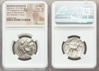 SELEUCID KINGDOM. Seleucus I Nicator (312-281 BC). AR tetradrachm (25mm, 16.95 gm, 1h). NGC Choice AU 4/5 - 4/5. Posthumous issue in the name and type...