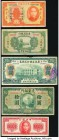 China Selection of 5 Examples Fine-Very Fine.   HID09801242017  © 2020 Heritage Auctions | All Rights Reserved
