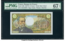France Banque de France 5 Francs 8.1.1970 Pick 146b PMG Superb Gem Unc 67 EPQ.   HID09801242017  © 2020 Heritage Auctions | All Rights Reserved