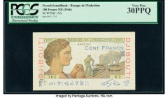 French Somaliland Banque de l'Indochine, Djibouti 100 Francs ND (1946) Pick 19A PCGS Very Fine 30PPQ.   HID09801242017  © 2020 Heritage Auctions | All...