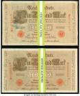 Germany Imperial Bank Notes 1000 Mark 21.4.1910 Pick 44b About Uncirculated-Uncirculated.   HID09801242017  © 2020 Heritage Auctions | All Rights Rese...