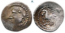 Central Gaul. Lemovice circa 100-50 BC. Quinarius AR