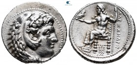"Kings of Macedon. Babylon. Alexander III ""the Great"" 336-323 BC. Struck under Stamenes or Archon, circa 324/3 B. Tetradrachm AR"