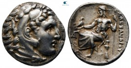 "Kings of Macedon. Lampsakos. Alexander III ""the Great"" 336-323 BC. Struck circa 323-317 BC. Drachm AR"
