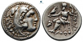 "Kings of Macedon. Magnesia ad Maeandrum. Alexander III ""the Great"" 336-323 BC. Struck circa 318-301 BC. Drachm AR"