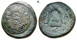 Kings of Macedon. Uncertain mint in Macedon. Alexander III - Kassander 325-310 BC. Bronze Æ