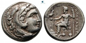 Kings of Macedon. Miletos. Philip III Arrhidaeus 323-317 BC. In the name of Alexander III. Struck under Asandros, circa 323-319 BC. Drachm AR