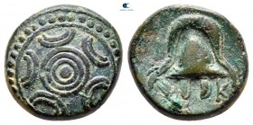 Kings of Macedon. Miletos or Mylasa. Philip III Arrhidaeus 323-317 BC. Struck circa 323-319 BC. Bronze Æ